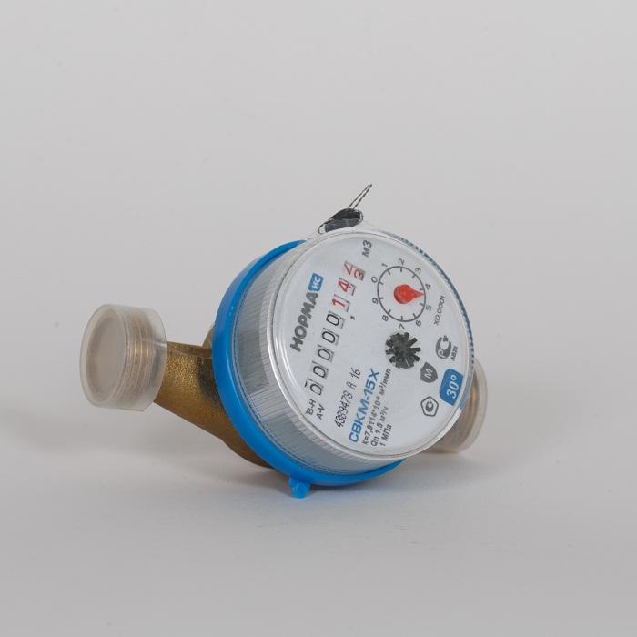 Счётчик СВК-15 Х 37гр 1.5м3/час ( НОРМА )