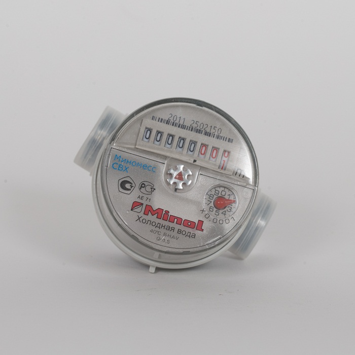 Счетчик воды(хол) Minomess Ду 15, 80 мм, Qn 1.5 квартирный